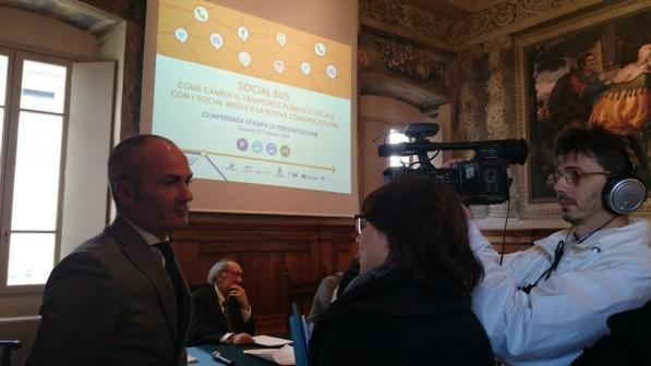 La conferenza stampa di presentazione di Social Bus