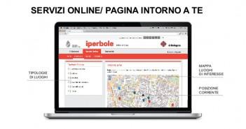 Un'immagine della presentazione della nuova rete civica Iperbole