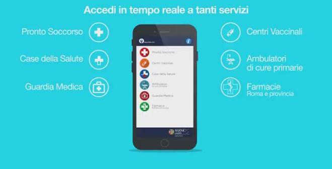 Te lo do io l'ambulatorio: in un clic la rete sanitaria regionale con l'app Salute Lazio