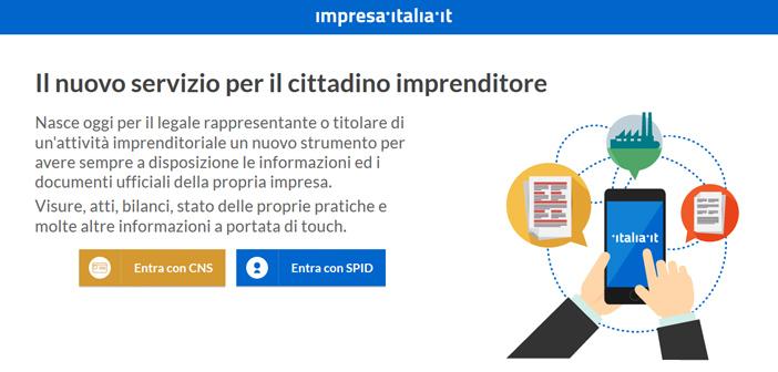 """Nasce impresa.italia.it, il """"cassetto digitale dell'imprenditore"""""""