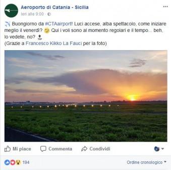 Aeroporto CT Facebook