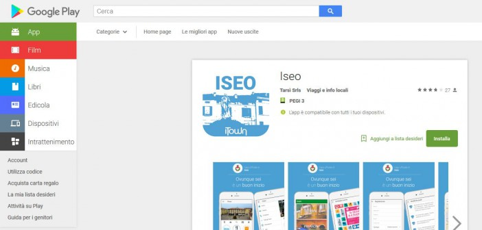 Iseo app