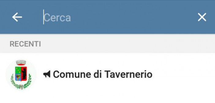 telegram tavernerio