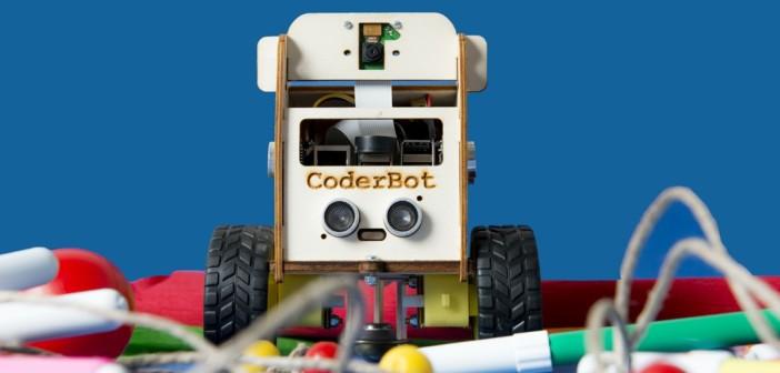 Al via la campagna di crowdfunding per CoderBot, il robot didattico