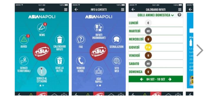 Asia lancia una app per semplificare la raccolta differenziata