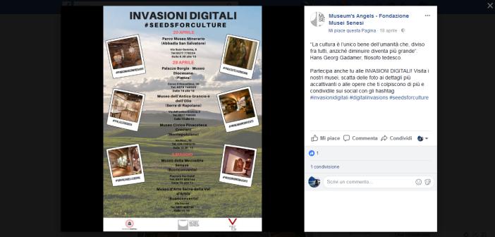 La Fondazione musei senesi protagonista delle Invasioni digitali