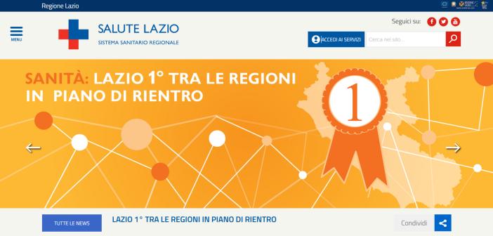 Facilmente accessibile e al servizio dei cittadini: online il nuovo portale salutelazio.it