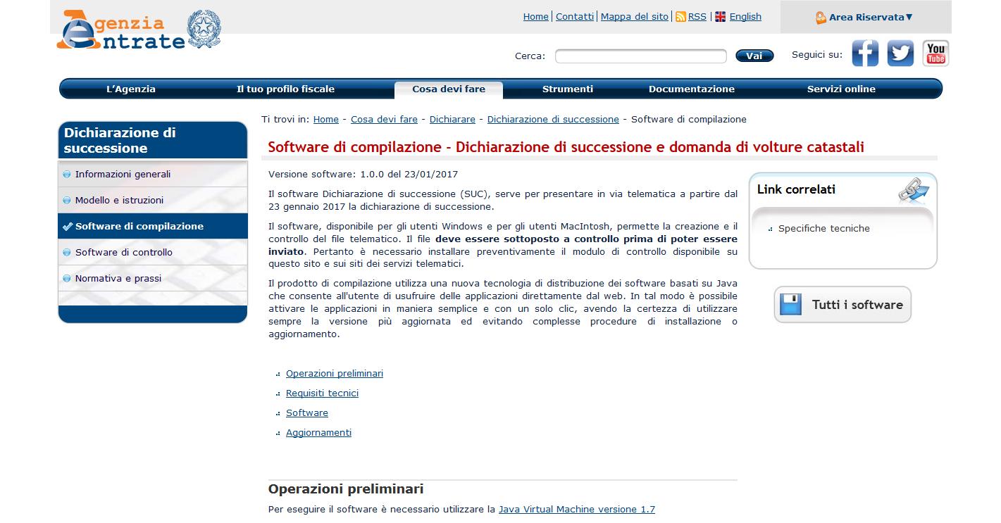 Delightful La Successione Diventa Digitale. Agenzia Delle Entrate Lancia Successioni  On Line