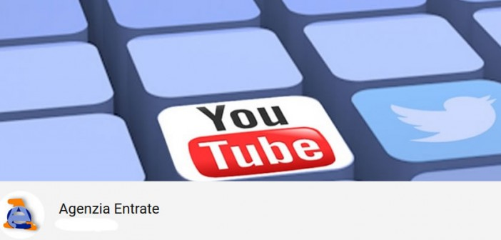 youtube agenzia entrate