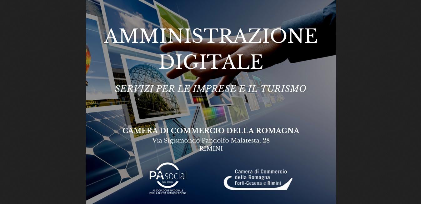 Amministrazione digitale servizi per l 39 impresa e il for Camera di commercio della romagna