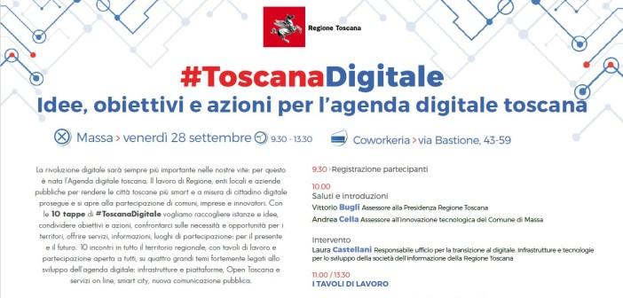 A Massa una nuova tappa di #ToscanaDigitale