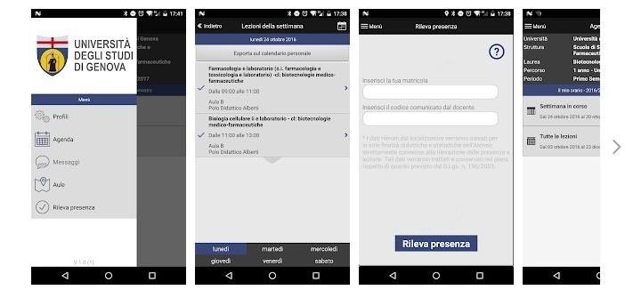 Orari e attività dell'Università di Genova a portata di smartphone con la app MyUnige
