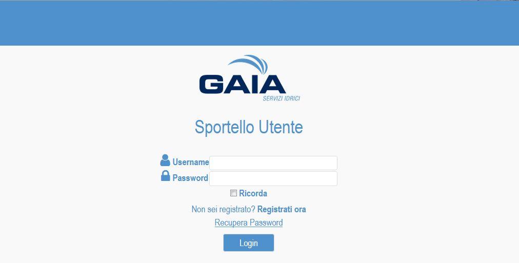 Gaia, arrivano lo Sportello online e la app