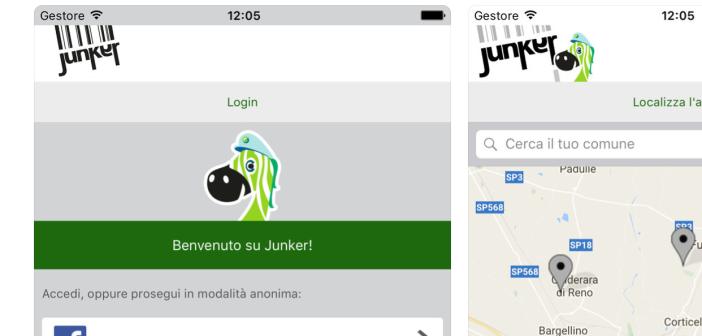 Junker, la app del Comune di Cologno Monzese che aiuta nella raccolta differenziata