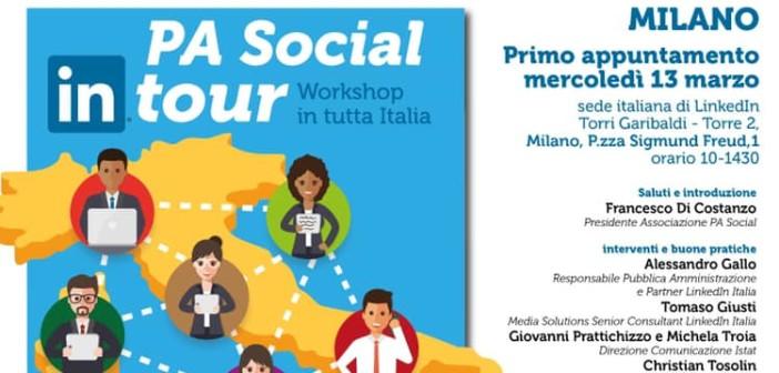 A Milano la prima tappa del tour formativo di PA Social e LinkedIn