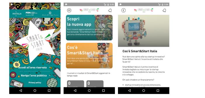 Invitalia lancia la app sull'incentivo Smart&Start Italia