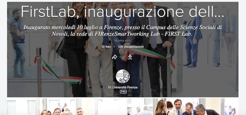 FIRST Lab, nasce al Campus di Novoli un laboratorio per i giovani talenti delle scienze sociali