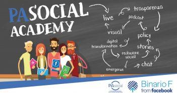 Focus su gestione di crisi ed emergenze sui social nel prossimo appuntamento di PA Social Academy