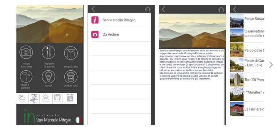 Una app per scoprire tutte le opportunità del territorio di San Marcello Piteglio