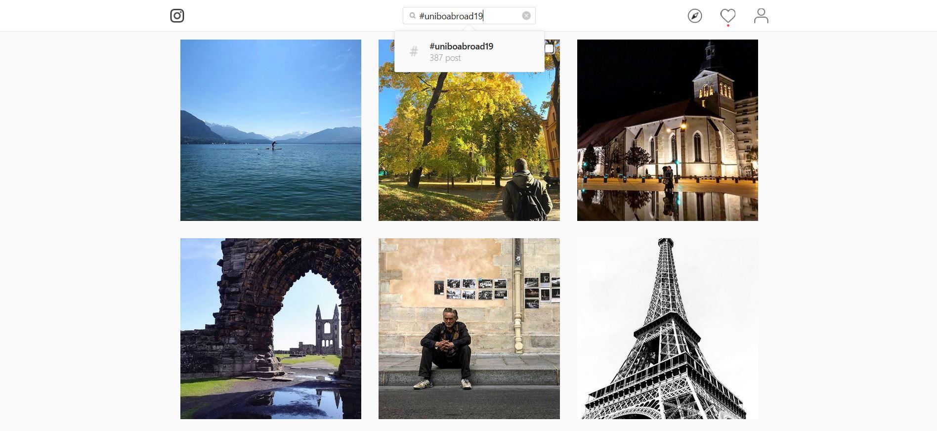 L'Università di Bologna lancia una nuova edizione del contest su Instagram #uniboabroad