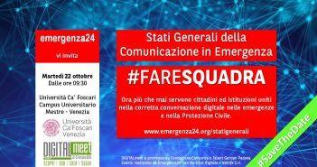 A Venezia gli Stati generali della Comunicazione in emergenza