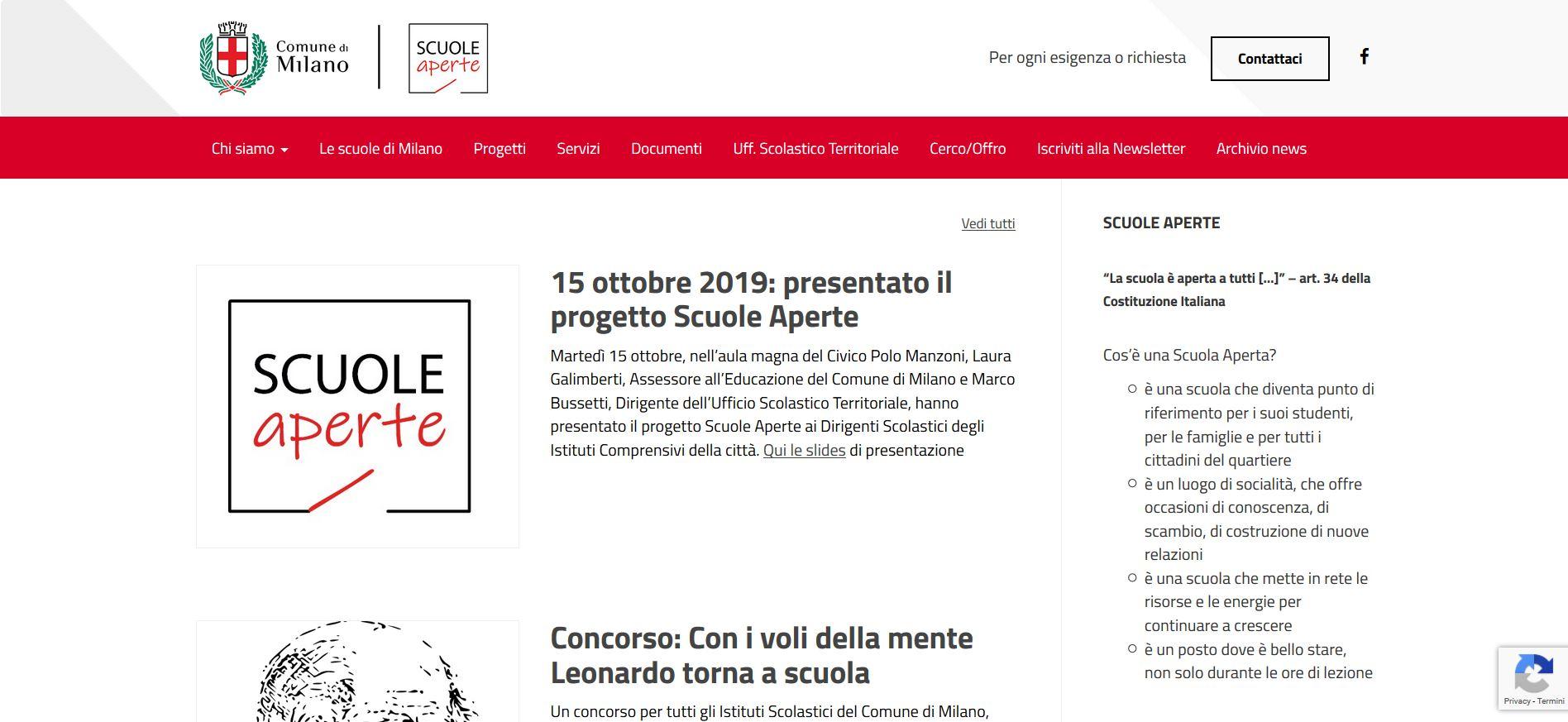Scuole Aperte 2.0, nascono il sito e la mappa interattiva per scoprire i progetti milanesi