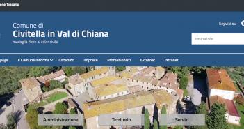 E' on line il nuovo sito web del Comune di Civitella in Val di Chiana