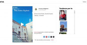 Bagheria è il primo Comune siciliano ad approdare su Tik Tok