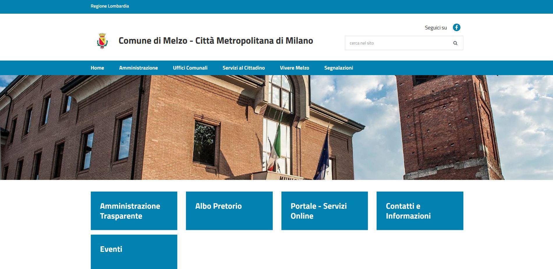 A Modo Mio Melzo online il nuovo portale del comune di melzo - cittadini di