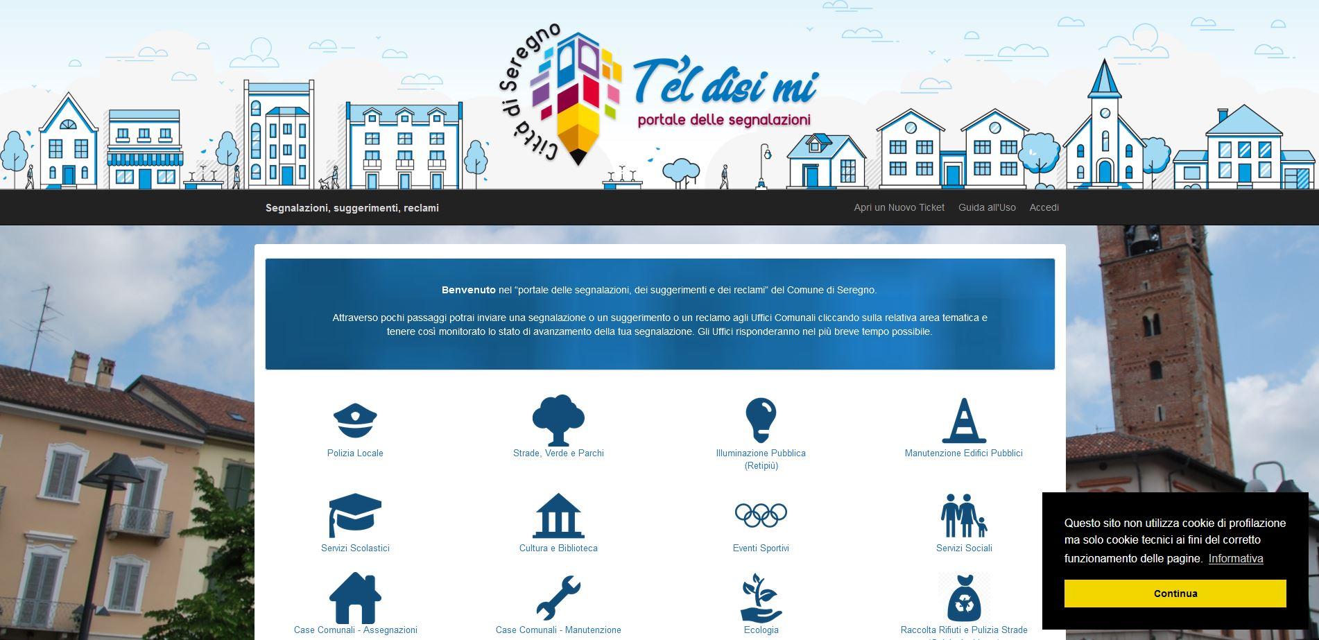 """Seregno, oltre mille le segnalazioni inoltrate al Comune tramite il portale """"T'el disi mi"""" nel suo primo anno di vita"""