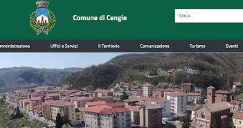 Il sito del Comune di Cengio si rifà il look: nuova veste grafica e contenuti più smart per i cittadini