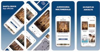 """Arriva """"Santa Croce"""", la app che ti guiderà nel viaggio dentro ai tesori della Basilica di Firenze"""