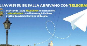 Il Comune di Busalla più vicino ai cittadini grazie a Telegram