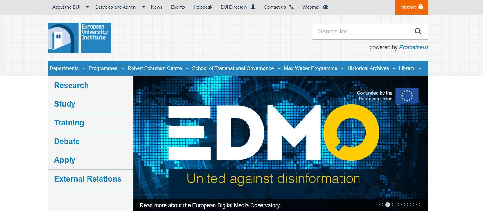 Lanciato l'Osservatorio europeo dei media digitali, la prima risposta multidisciplinare europea alla disinformazione online