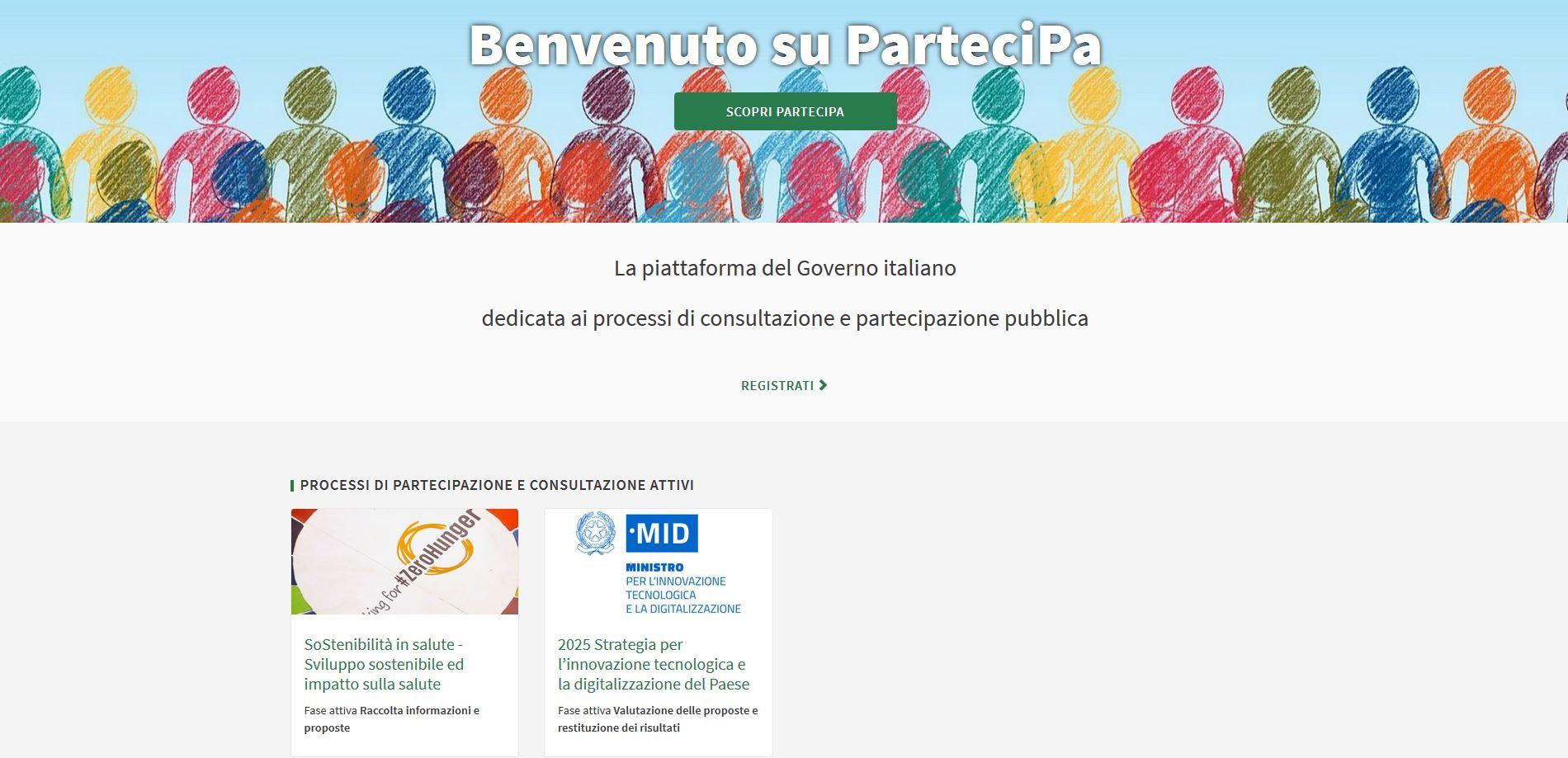 Una consultazione online per raccogliere informazioni sulle pratiche di sviluppo sostenibile nelle Pubbliche amministrazioni e nei luoghi di lavoro