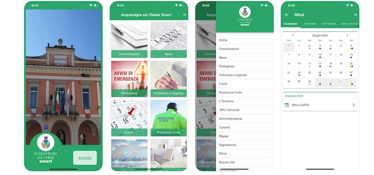 Acquanegra sul Chiese più vicino ai cittadini con la nuova app ufficiale del Comune