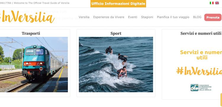 In Versilia l'Ufficio Informazioni è digitale
