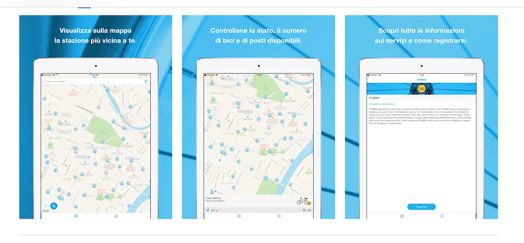 Mondobicicarrara: il servizio di bike sharing che si prenota con la app arriva nella città del marmo
