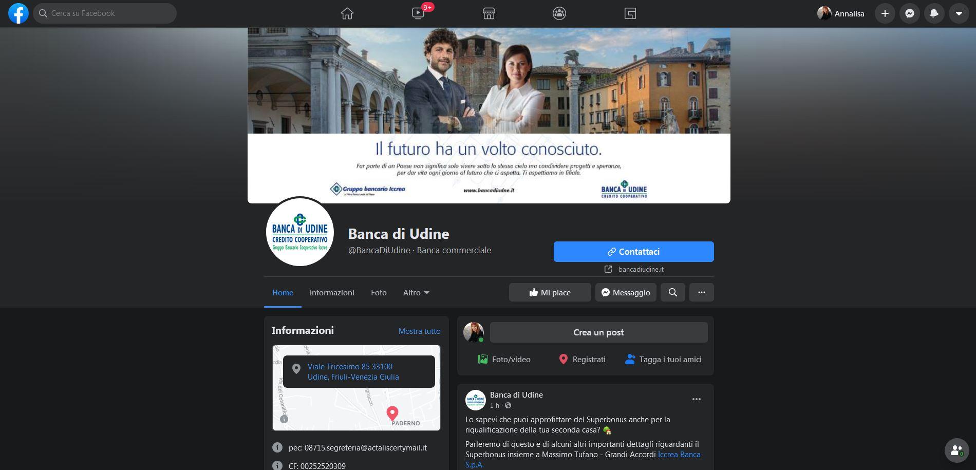 """Istituti di credito sempre più social: Banca di Udine e le """"Azioni di Valore"""""""